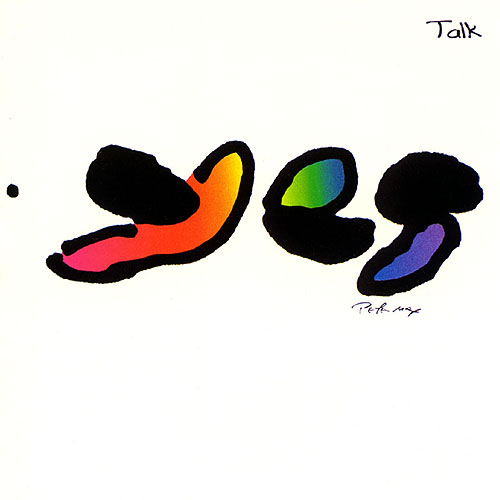 Yes - Talk CD (album) cover