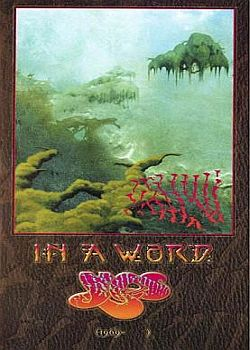 Yes - In A Word  CD (album) cover