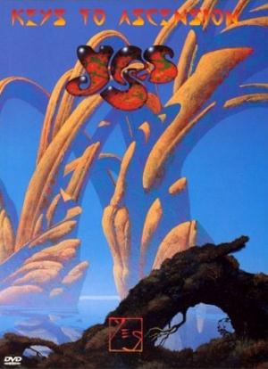 Yes - Keys to Ascension (DVD) CD (album) cover