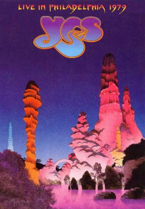 Yes Live in Philadelphia 1979 album cover