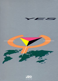 Yes - 9012 LIVE (DVD) CD (album) cover