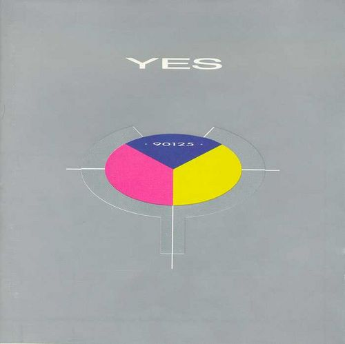 Yes 90125 album cover