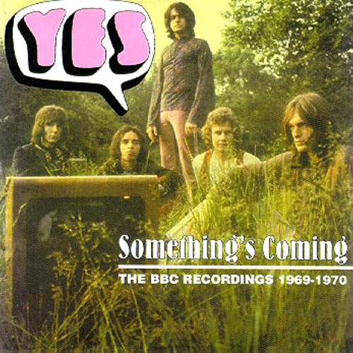 Yes - BBC Sessions 1969-1970 Something's Coming (2 Cds) CD (album) cover