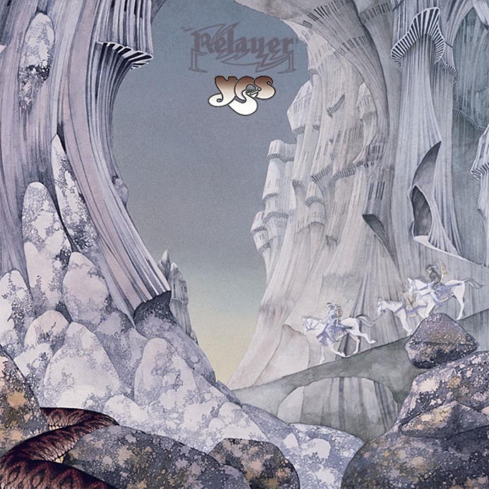 Relayer by YES album cover