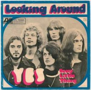 Yes Looking Around album cover