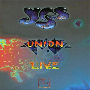 Yes Union Live album cover