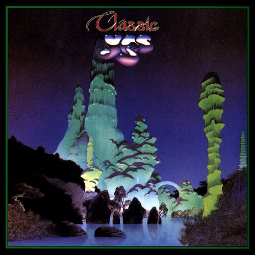 Yes - Classic Yes CD (album) cover