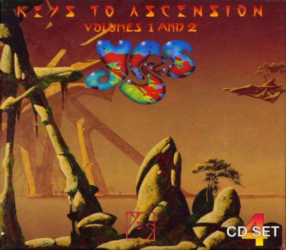 Yes - Keys to Ascension (Volumes 1 and 2) CD (album) cover