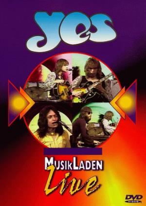 Yes The Best Of MusikLaden Live album cover