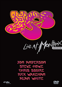Yes - Montreux 2003 (DVD) CD (album) cover