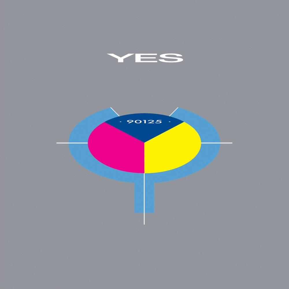 Yes - 90125 CD (album) cover