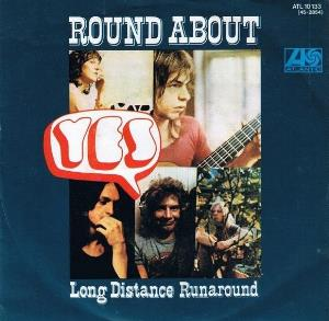 Yes Roundabout album cover
