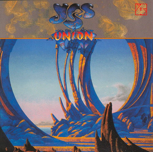 Yes Union album cover