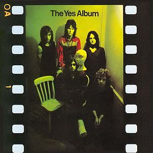 The Yes Album by YES album cover