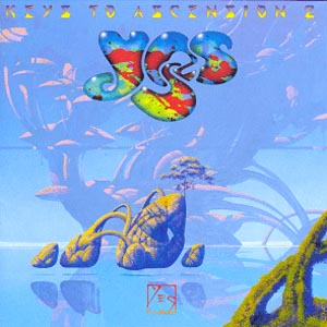 Yes - Keys to Ascension 2  CD (album) cover