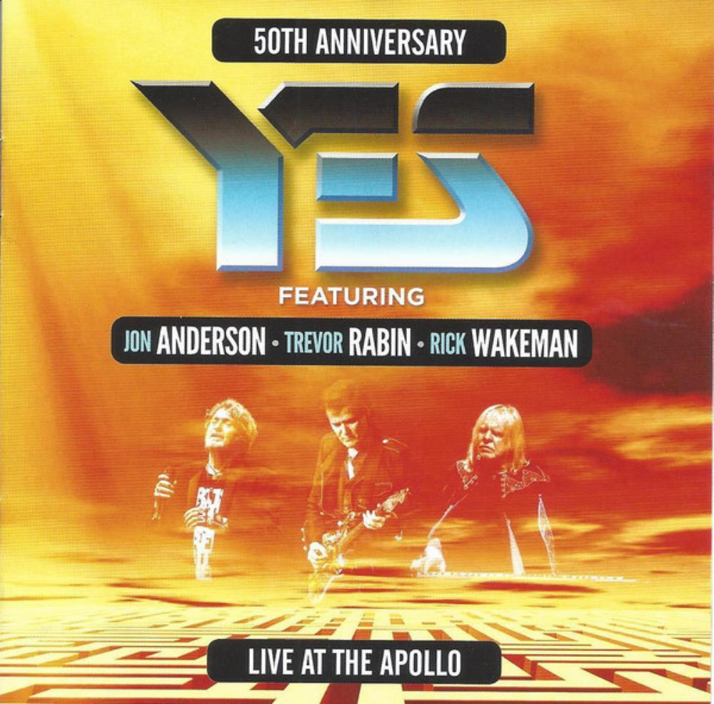 Yes ft. ARW: Live At The Apollo by YES album cover