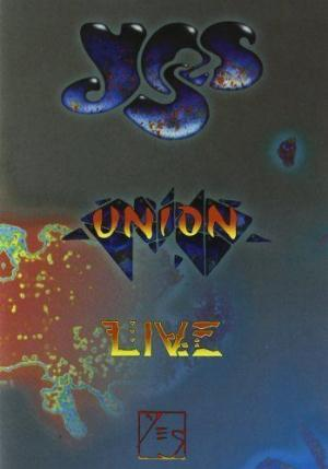 Yes - Union - Live CD (album) cover