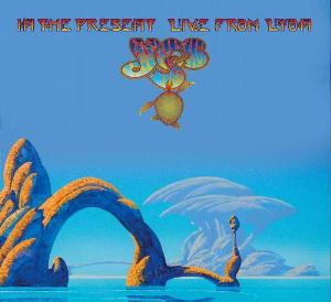 Yes - In The Present - Live From Lyon CD (album) cover