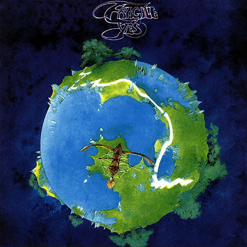 Fragile by YES album cover