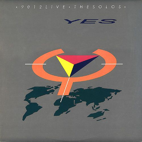 Yes - 9012 Live: The Solos  CD (album) cover