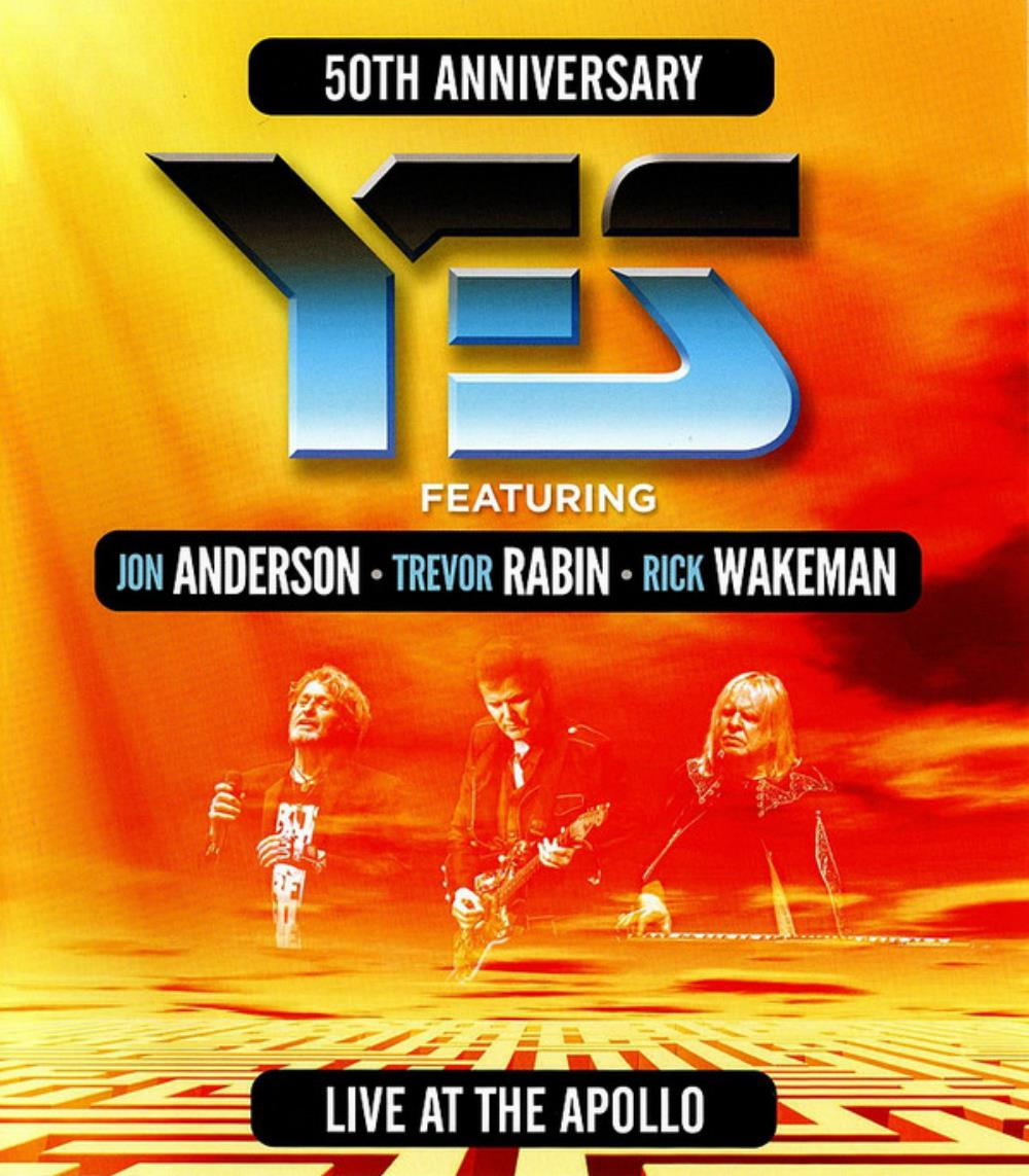 Yes - Live At The Apollo (ft. Jon Anderson, Trevor Rabin, Rick Wakeman) CD (album) cover
