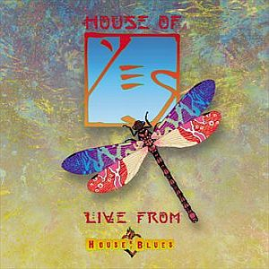 Yes - House of Yes: Live From the House of Blues  CD (album) cover