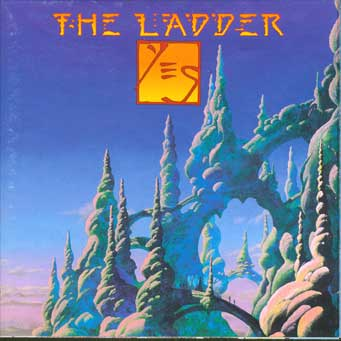 Yes - The Ladder  CD (album) cover