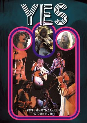 Yes Live Hemel Hempstead Pavillion October 3rd 1971 album cover