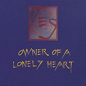 Yes Owner Of A Lonely Heart album cover