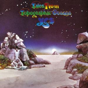 Tales From Topographic Oceans by YES album cover