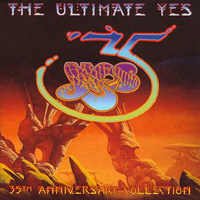 Yes - Ultimate Yes: 35th Anniversary Collection CD (album) cover