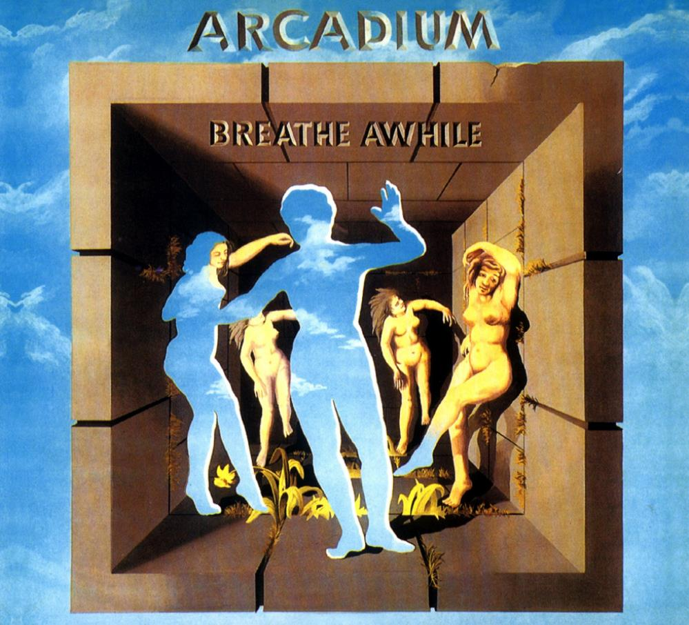 Breathe Awhile by ARCADIUM album cover
