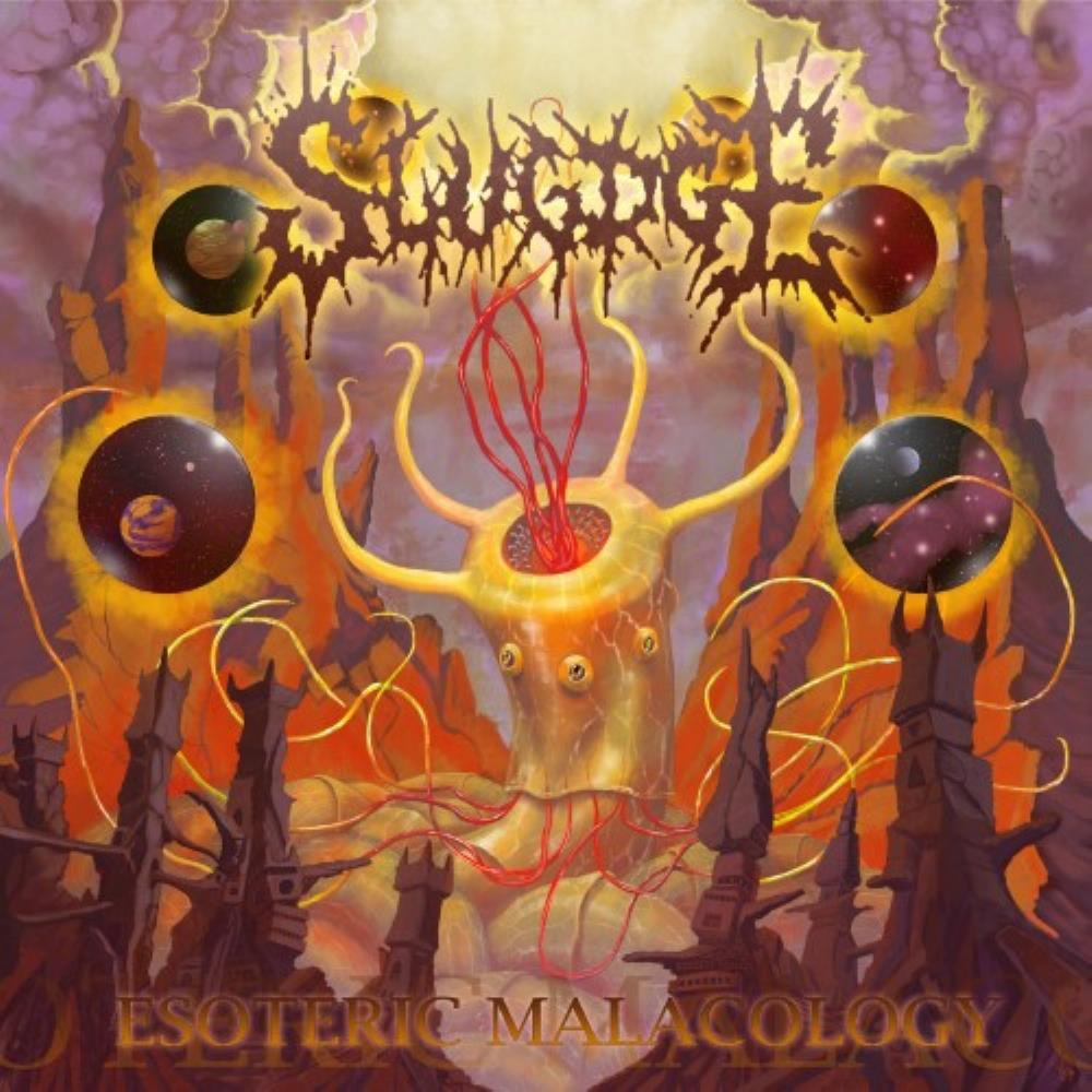 Slugdge - Esoteric Malacology CD (album) cover