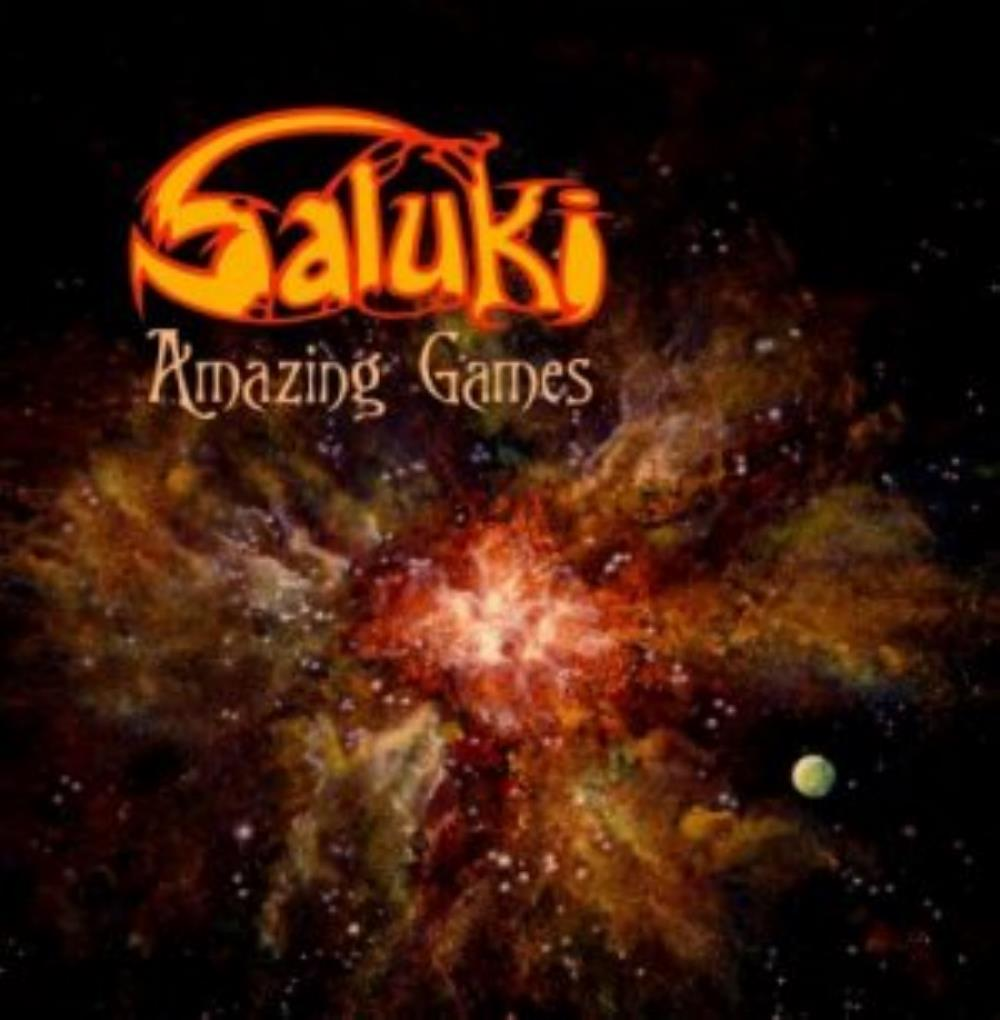 Amazing Games by Saluki album rcover