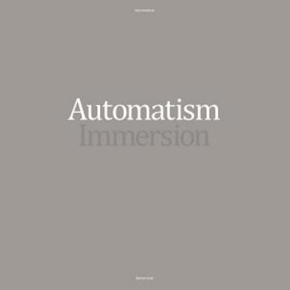 Automatism Immersion album cover
