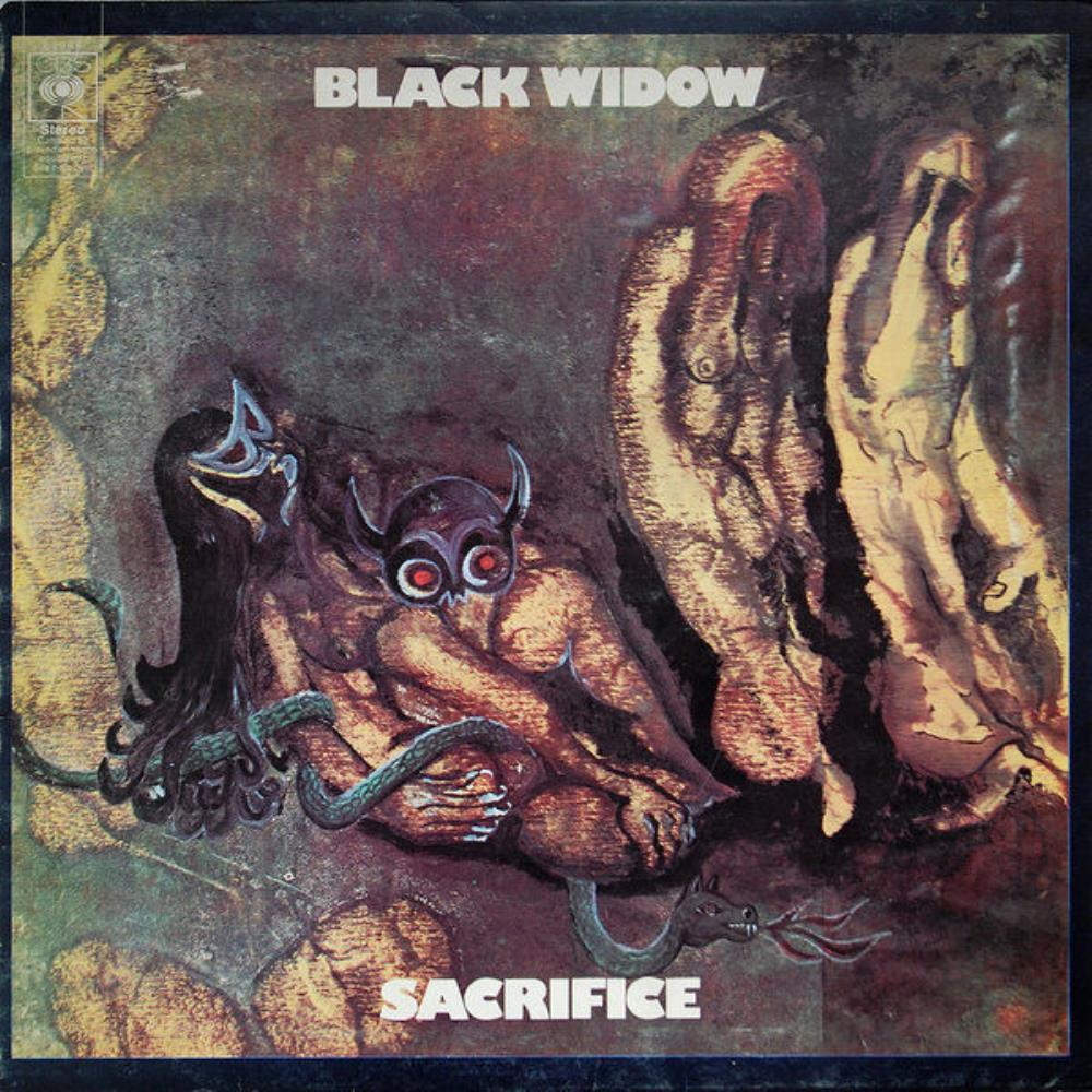 Sacrifice by BLACK WIDOW album cover