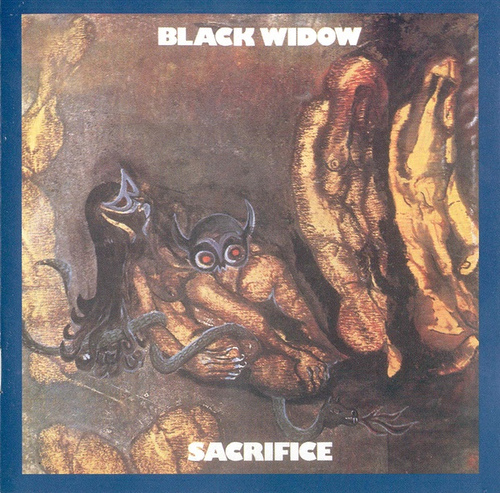 Black Widow - Sacrifice CD (album) cover