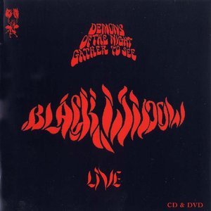 Black Widow - Demons of the Night Gather to See Black Widow Live CD (album) cover