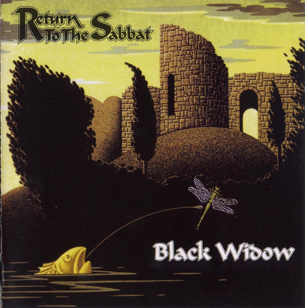 Return To The Sabbat by BLACK WIDOW album cover