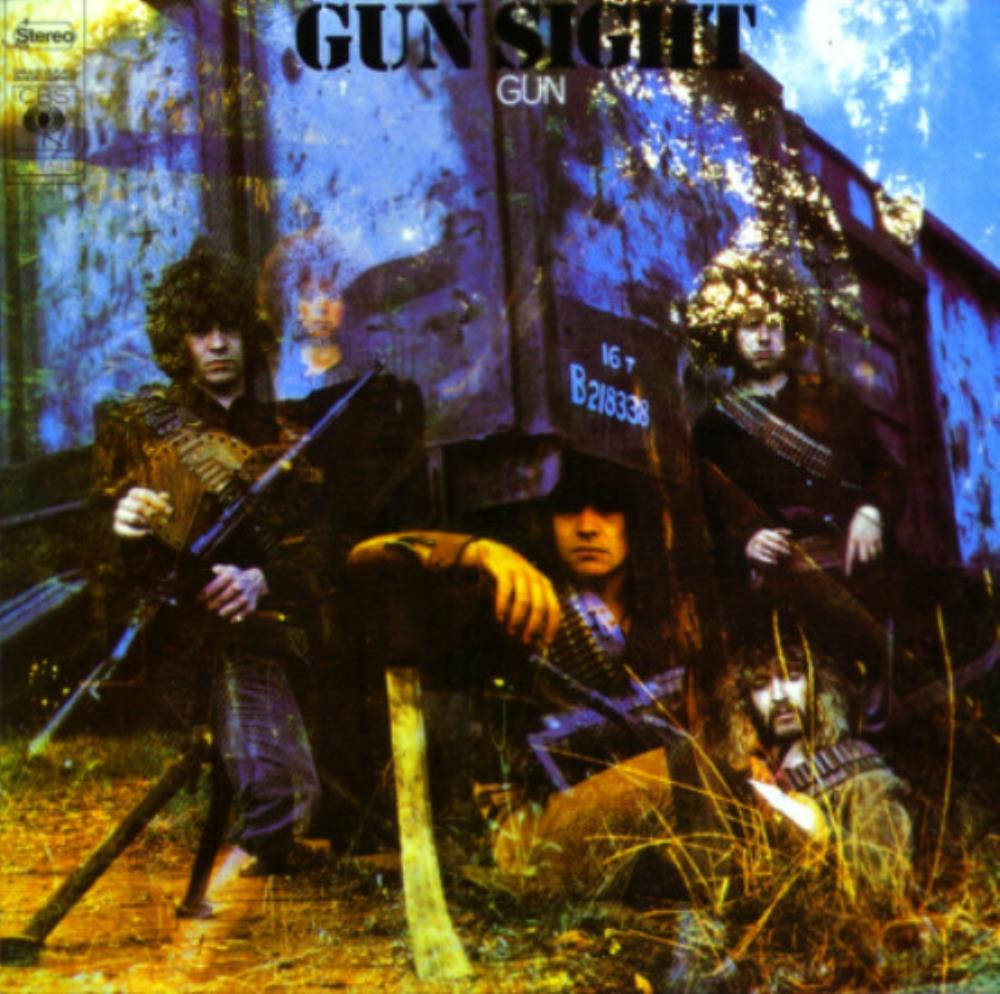Gunsight by GUN, THE album cover