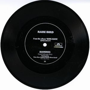 Rare Bird Diamonds flexi 7'' album cover
