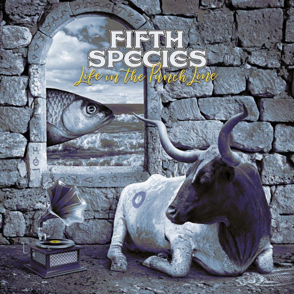 Life In The Punch Line by FIFTH SPECIES album cover