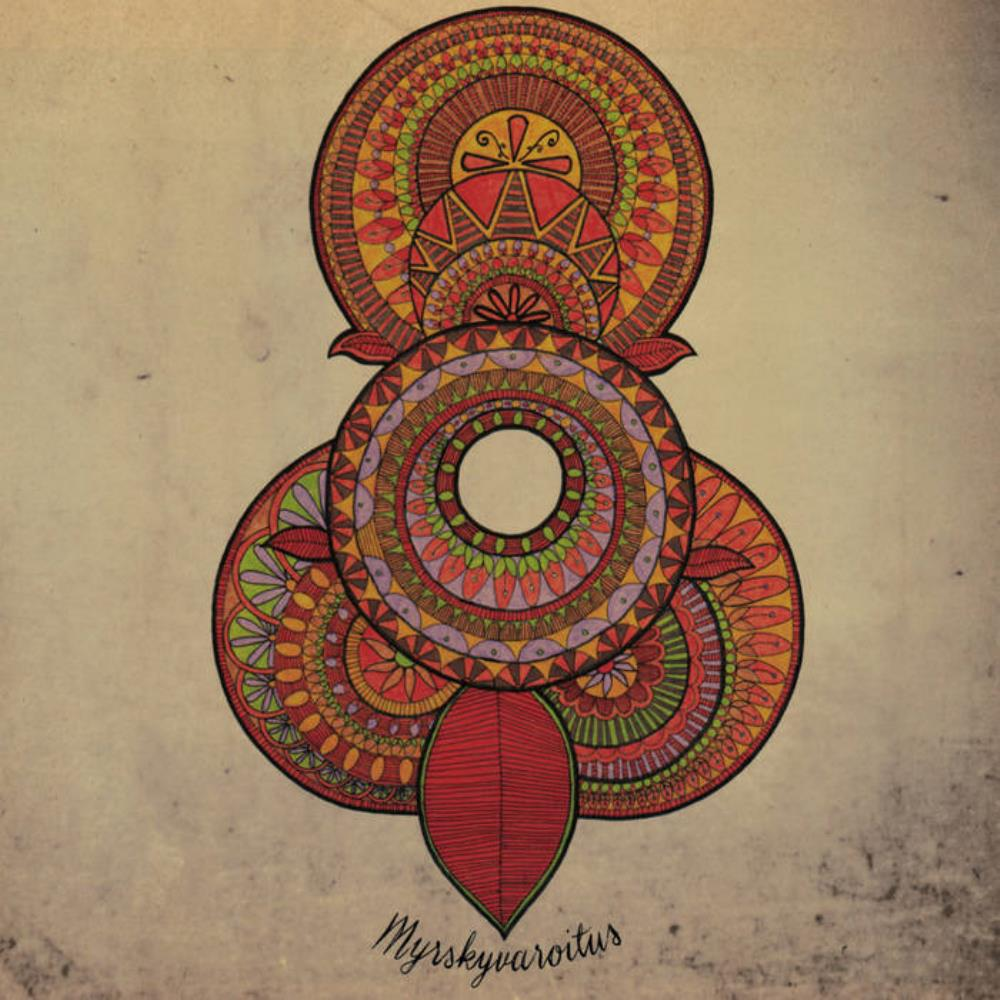 Myrskyvaroitus by SAMMAL album cover
