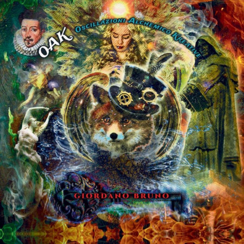 Giordano Bruno by OSCILLAZIONI ALCHEMICO KREATIVE (O.A.K.) album cover