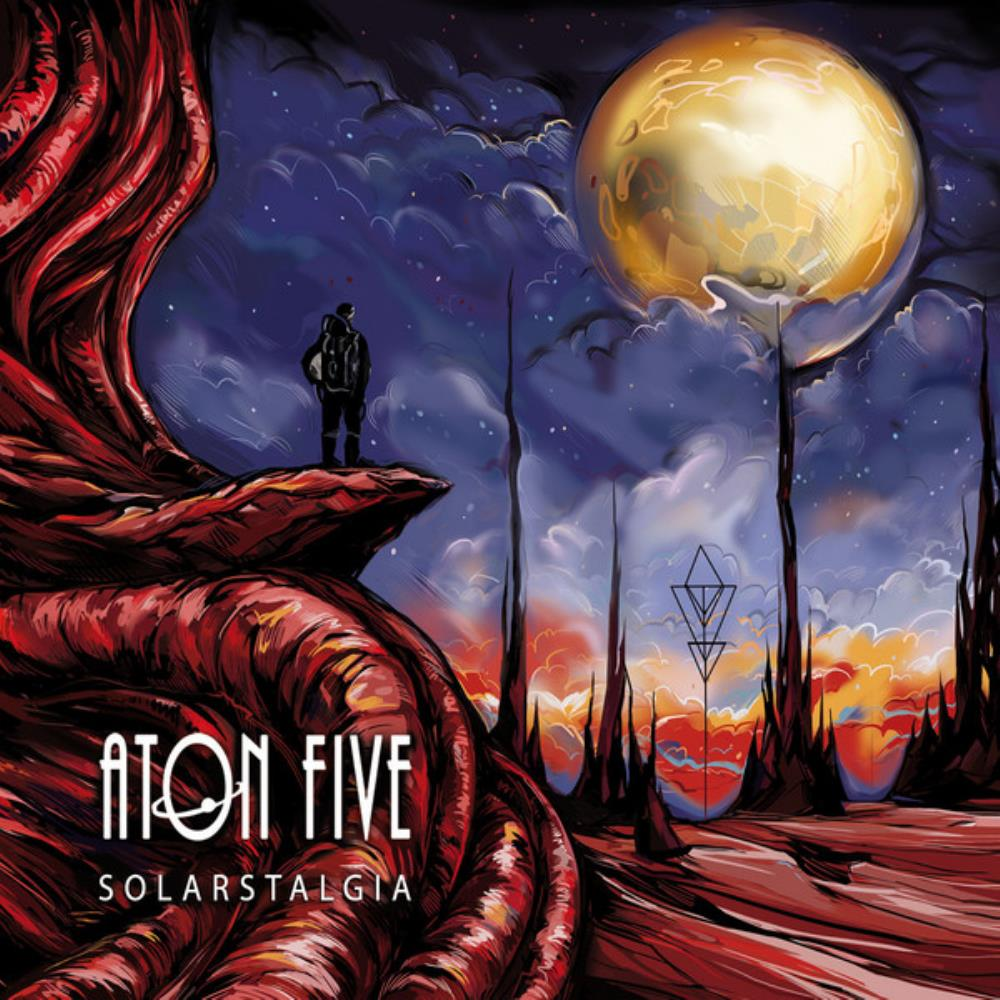 Aton Five Solarstalgia album cover