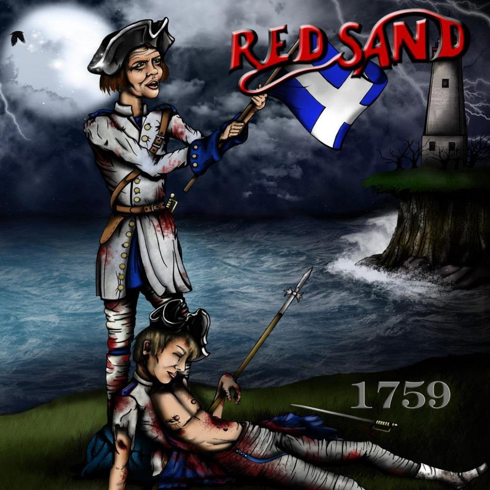 Red Sand - 1759 CD (album) cover