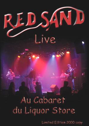 Live Au Cabaret du Liquor Store by RED SAND album cover