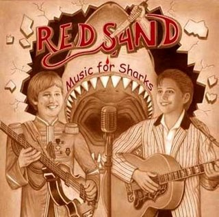 Red Sand - Music For Sharks CD (album) cover