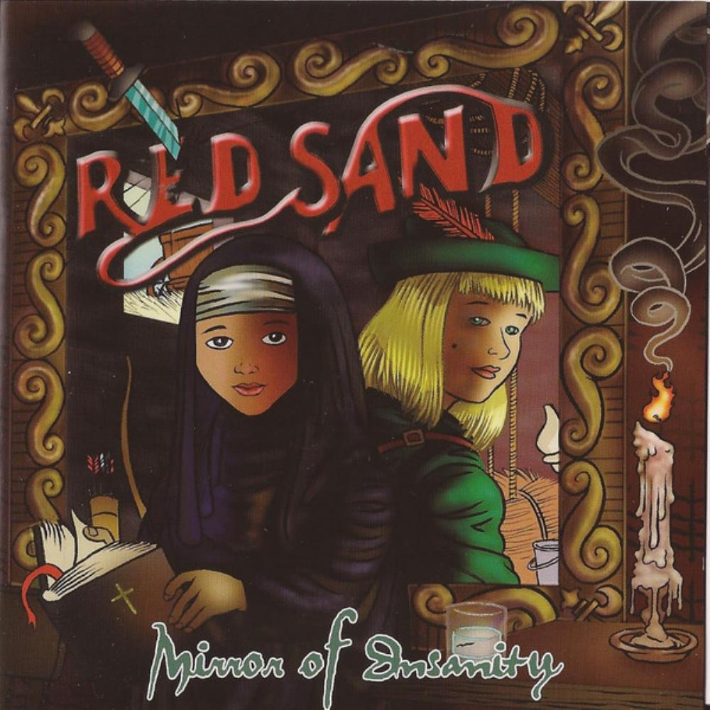 Red Sand - Mirror Of Insanity CD (album) cover