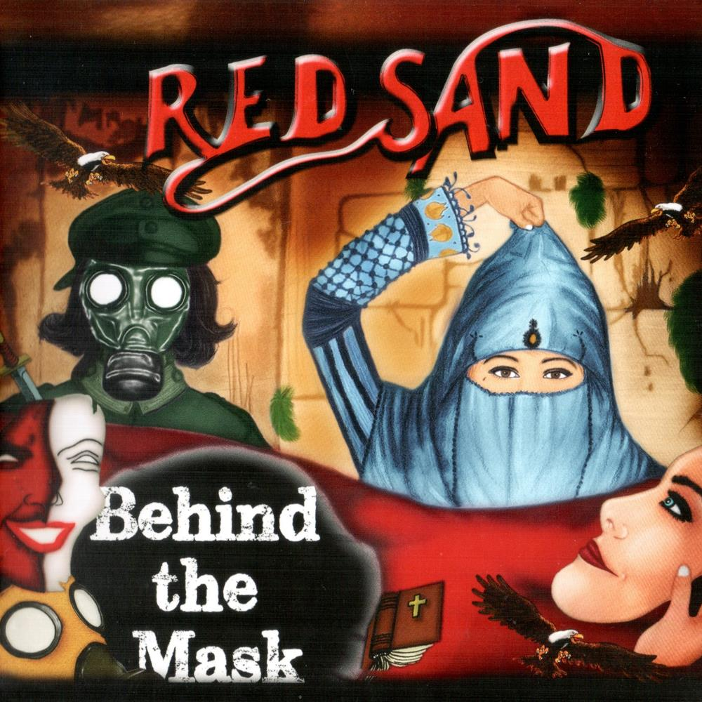 Red Sand Behind The Mask album cover